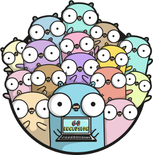 Le logo de Golang librement adapté par Ashley Macnamara