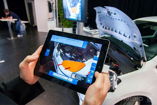 La réalité augmentée, une aide pour l'industrie