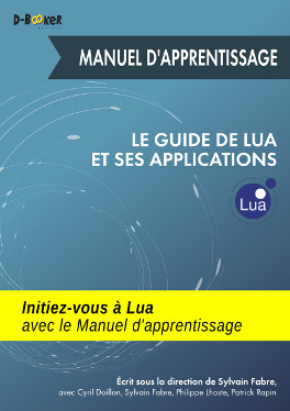 visuel de couverture du Manuel d'apprentissage du Guide de Lua et ses applications