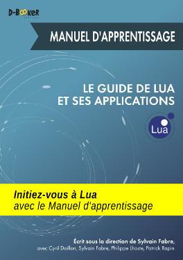 visuel de couverture du Manuel d'apprentissage du Guide de Lua et ses applications
