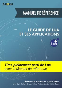 visuel de couverture du Manuel de référence du Guide de Lua et ses applications