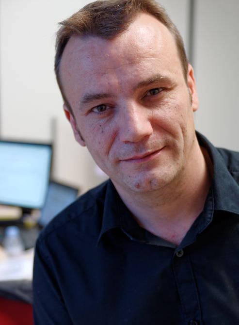 Sylvain Roussy, auteur du livre Neo4j Des données et des graphes